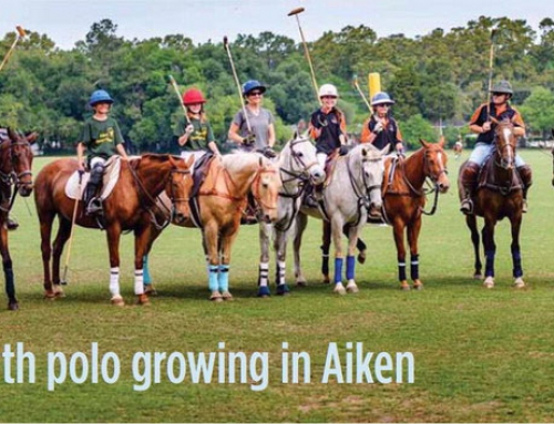 Aiken Standard: Youth Polo in Aiken