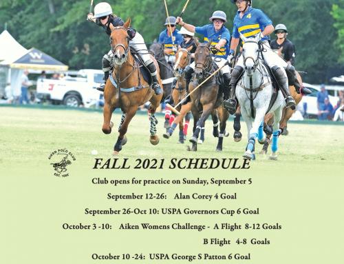 2021 Fall Schedule