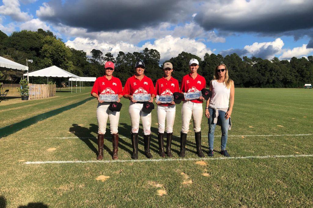 aiken polo club women's flight b winners